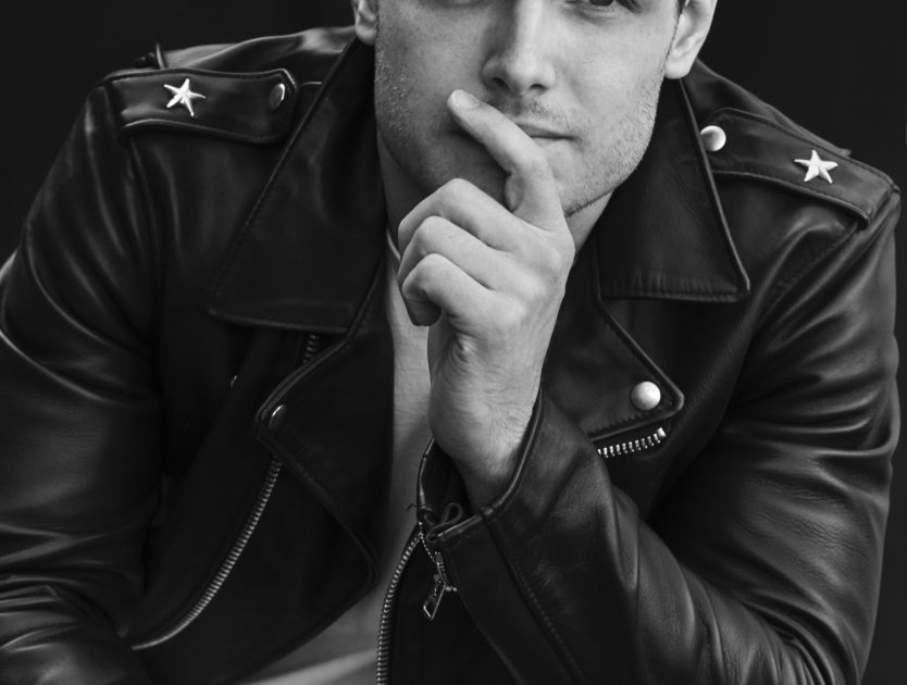 Actor Michael Mealor, young and Grateful