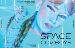 Mr. Warburton Magazine Space Cowboys