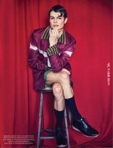 Mr. Warburton Magazine Gender Bender