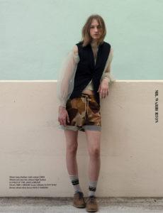 Mr. Warburton Magazine Beauty of Gamine
