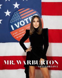 Mr. Warburton Magazine #VoteForLove