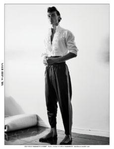 Mr. Warburton Magazine Getting Dressed In The Dark