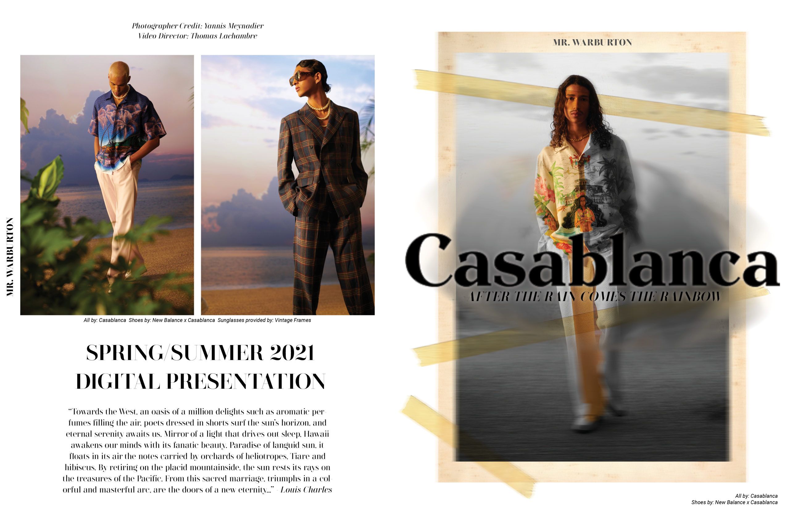 Mr. Warburton Magazine Casablanca
