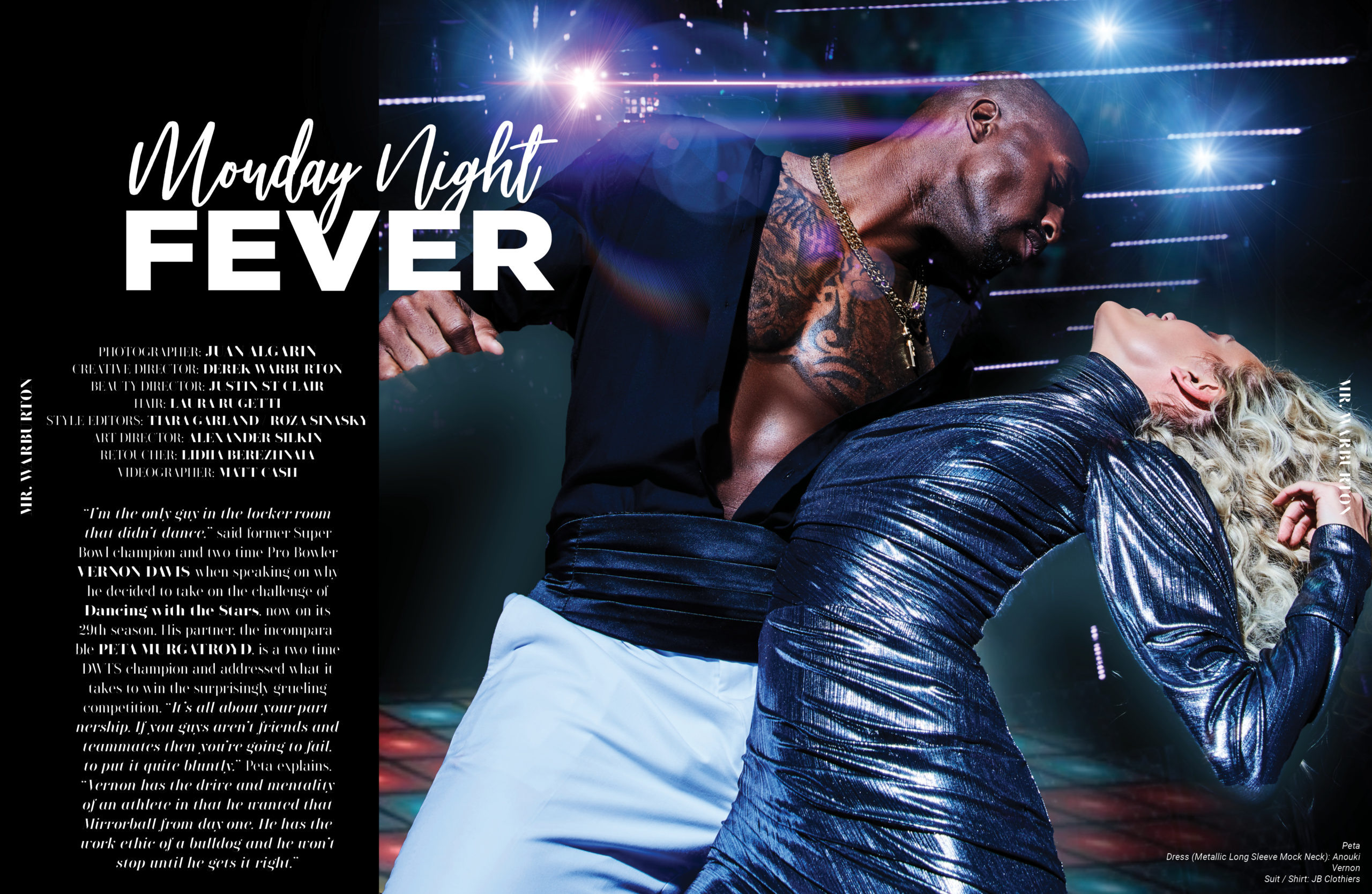Mr. Warburton Magazine Monday Night Fever
