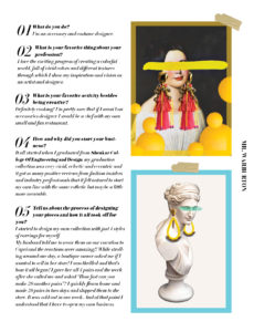 Mr. Warburton Magazine Dana Daniela