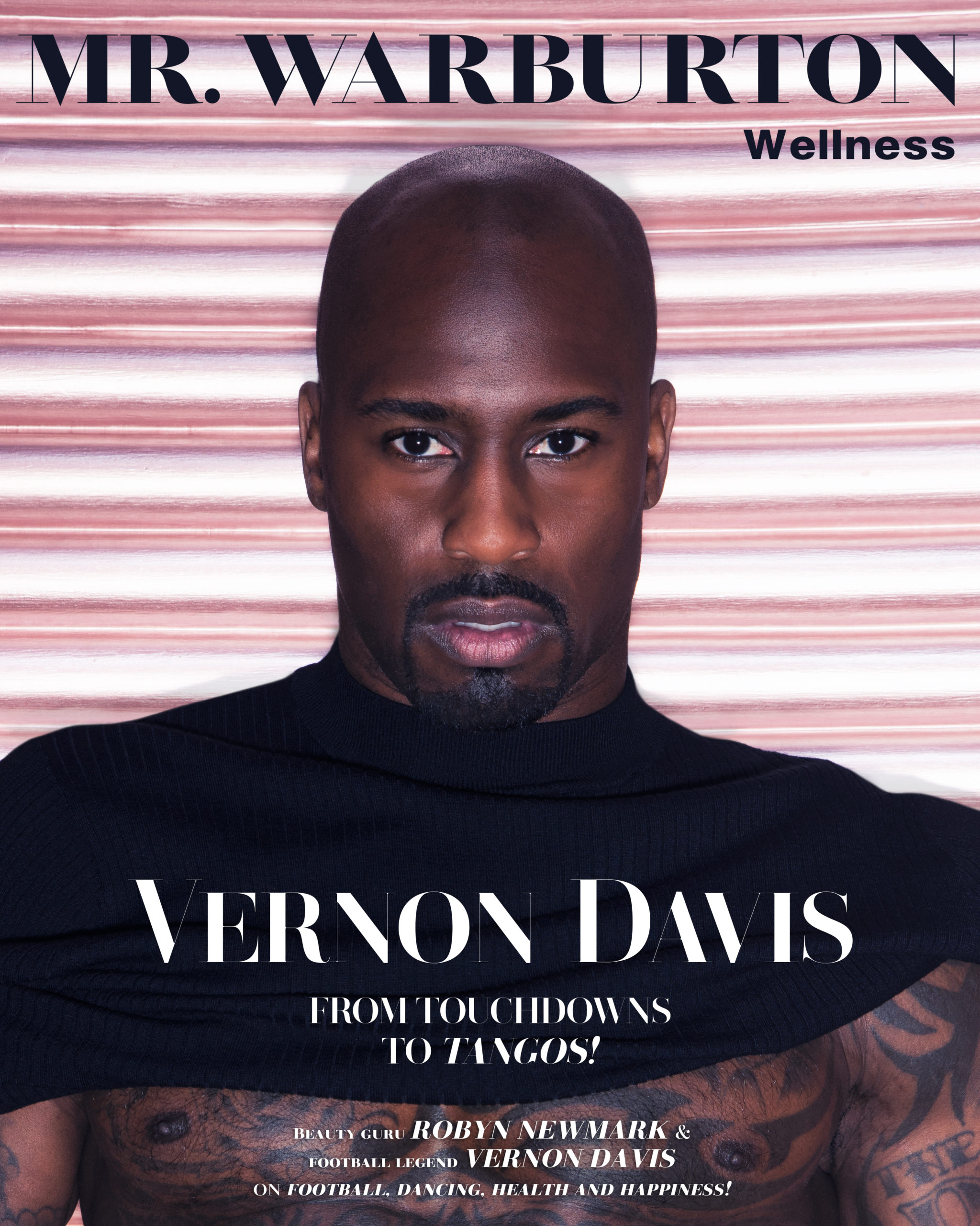 Mr. Warburton Magazine Vernon Davis