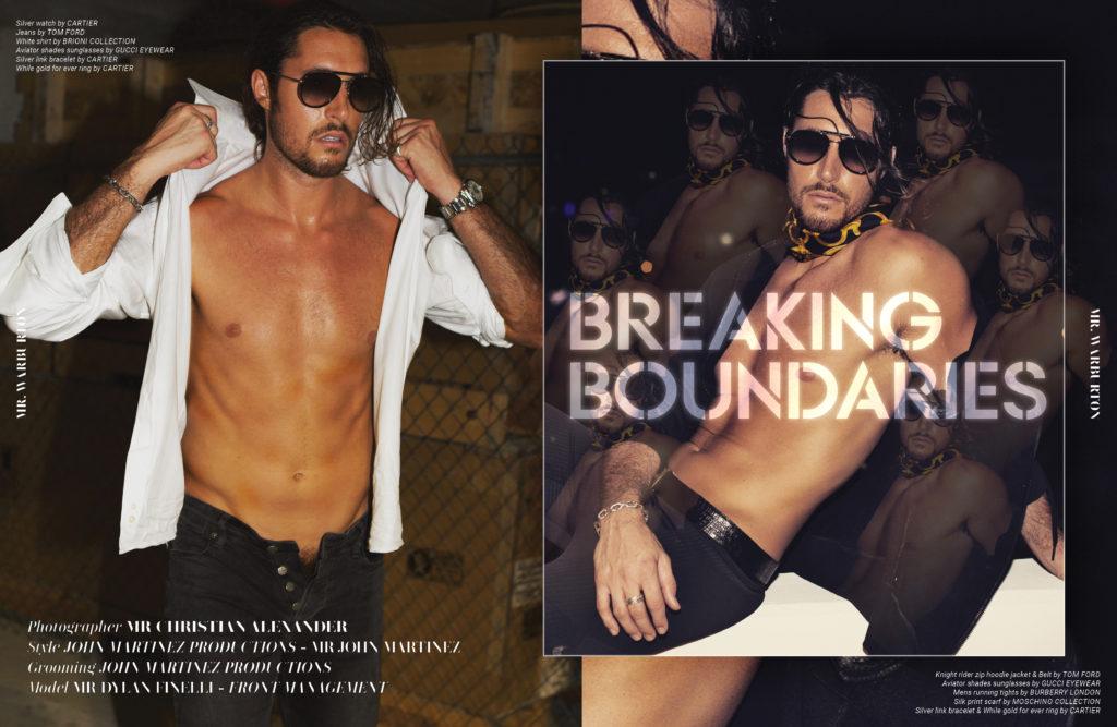 Mr. Warburton Magazine Breaking Boundaries