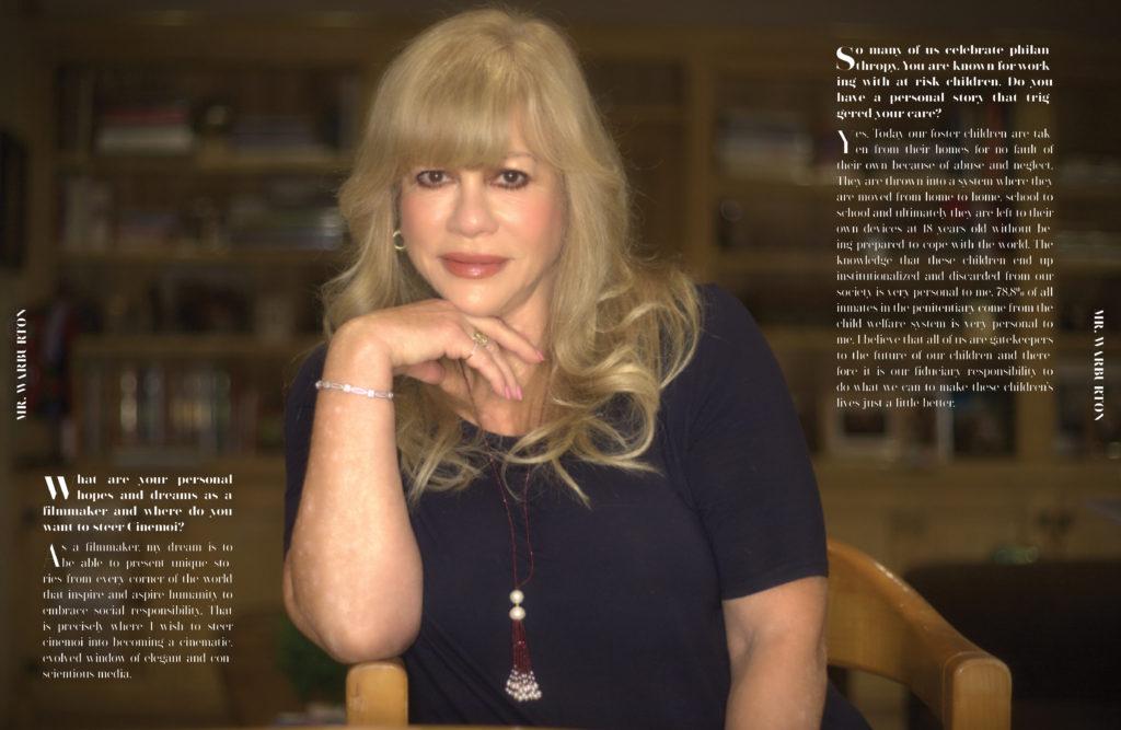 Mr. Warburton Magazine Daphna Ziman