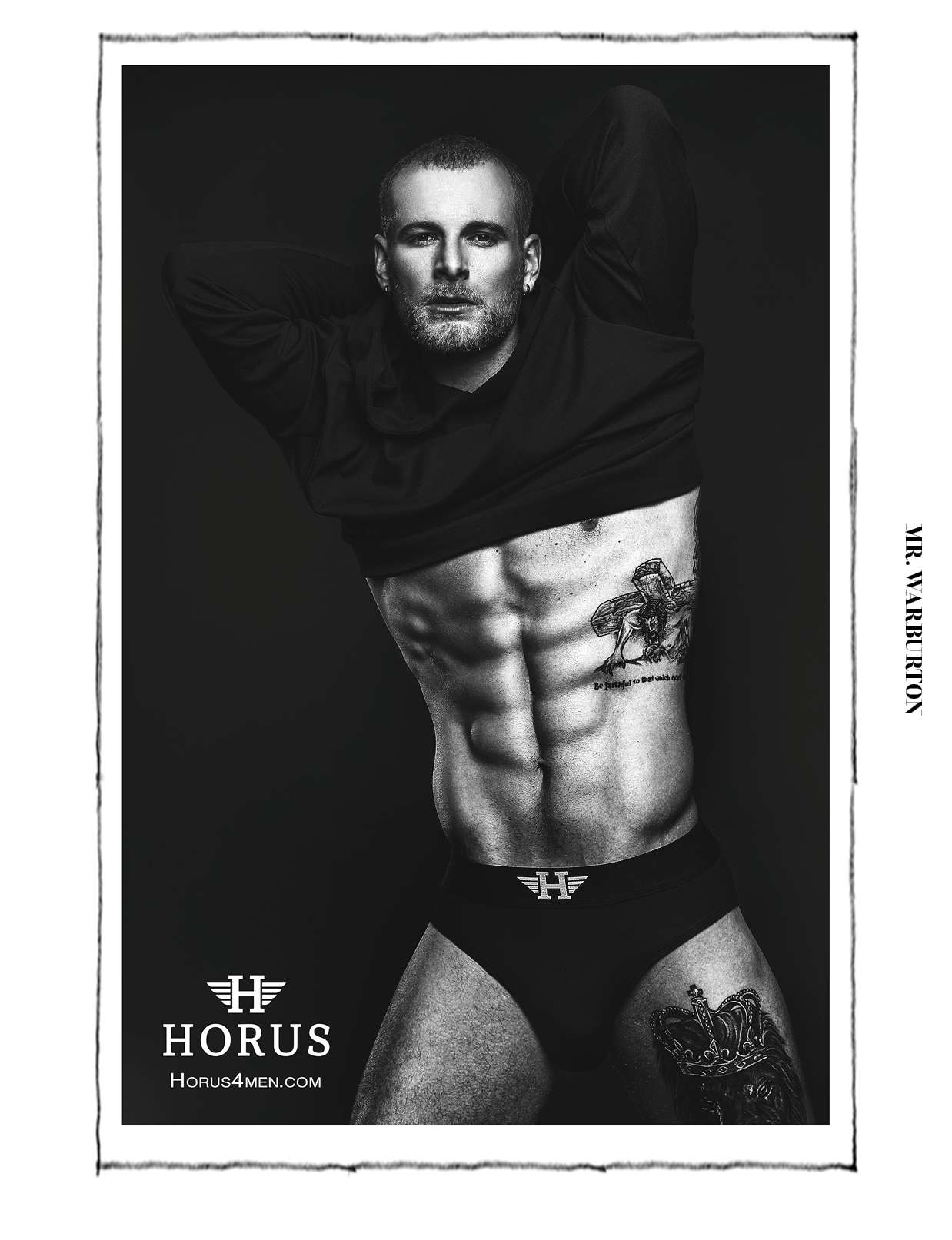 Mr. Warburton Magazine Horus4Men