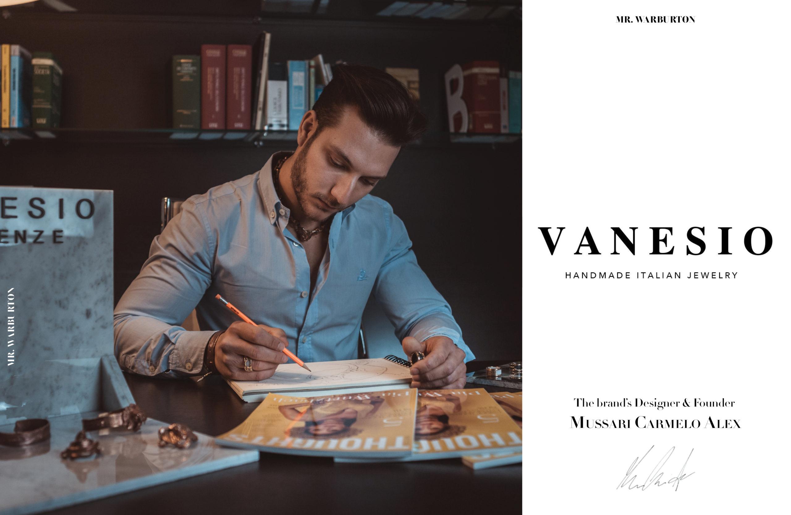 Mr. Warburton Magazine Vanesio