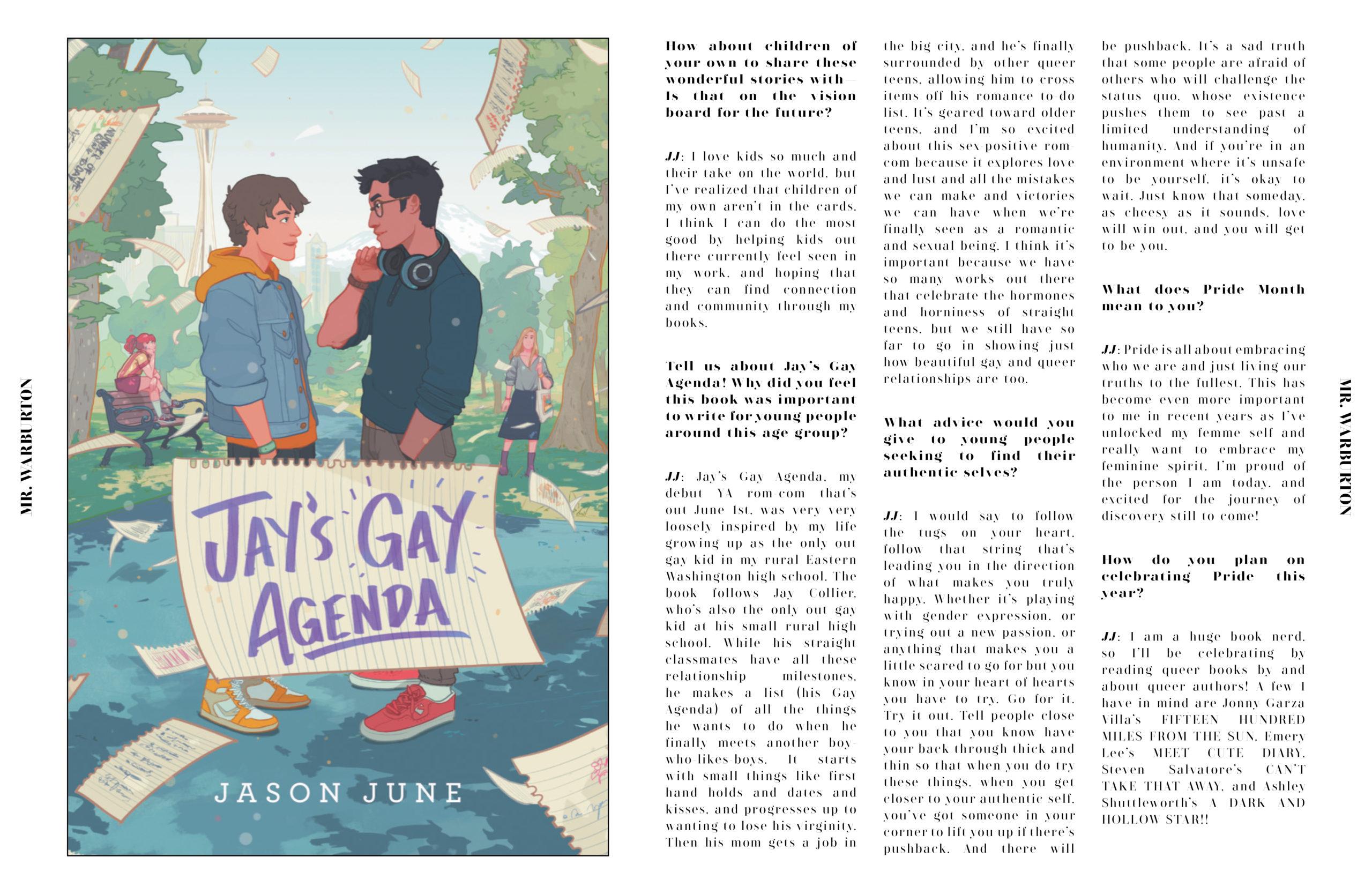 Mr. Warburton Magazine Jason June