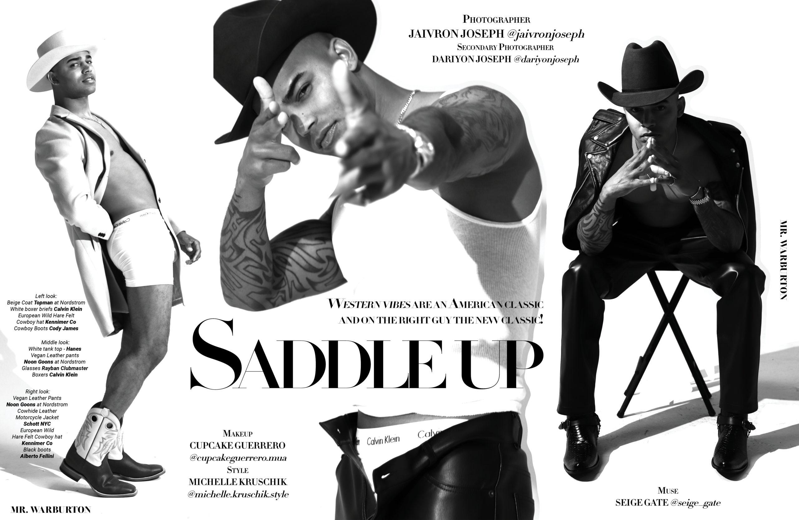 Mr. Warburton Magazine Saddle Up